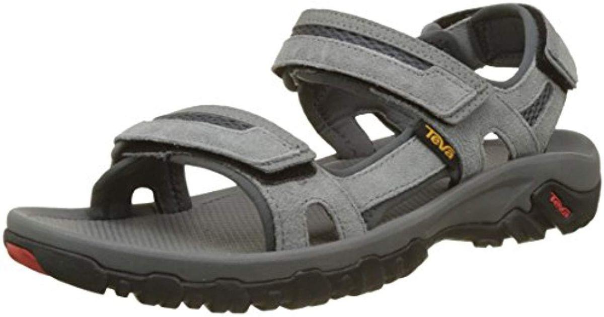Gray Men Lyst Sandals Hiking Hudson Teva For 35jRL4A