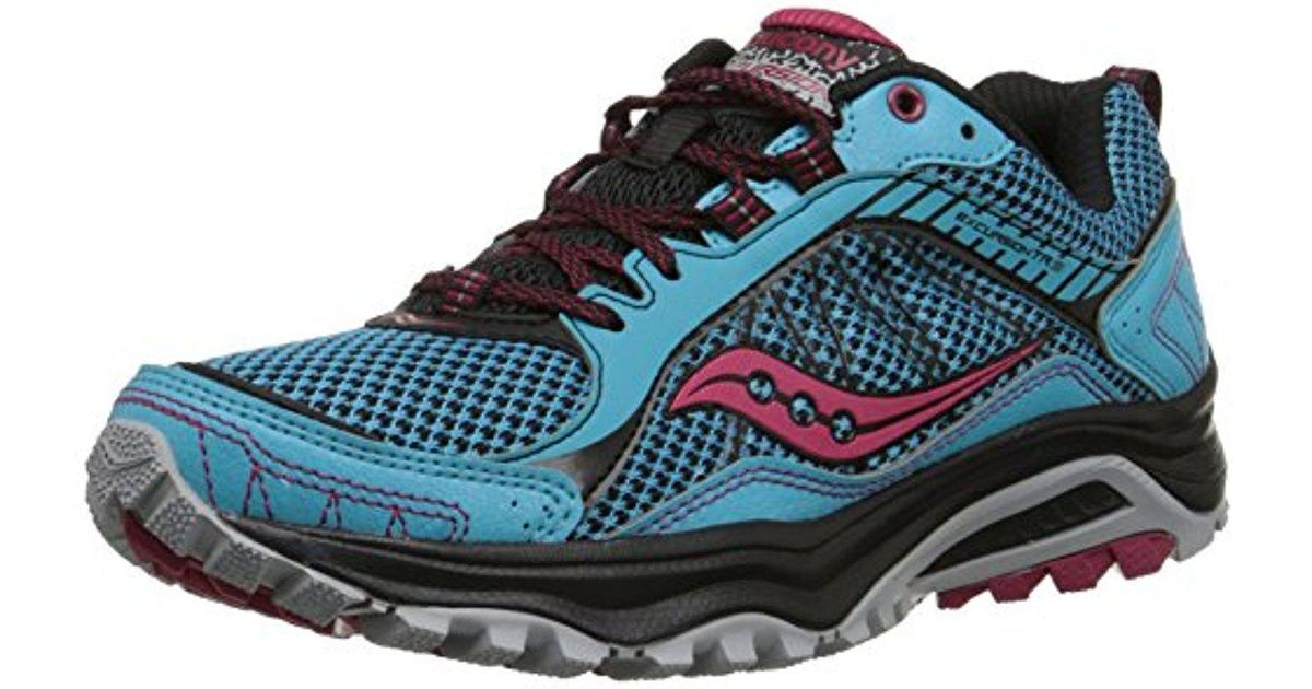 saucony womens excursion tr9 road running shoe grid excursion tr9 w