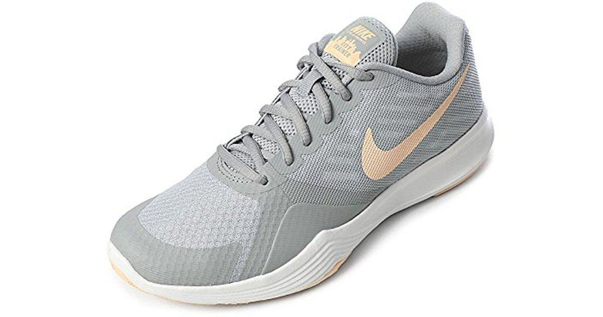 ba51ebf49ba Lyst - Nike City Trainer Training Shoes in Gray