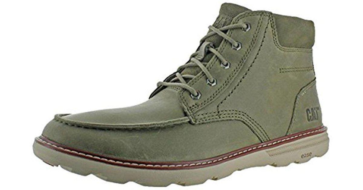 056e8ee1816fd Caterpillar Duke Fashion Boot in Green for Men - Save 19% - Lyst