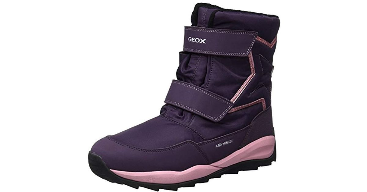 445daeffd5 Geox Unisex Adults' J Orizont B Girl Abx A Snow Boots in Purple for Men -  Lyst