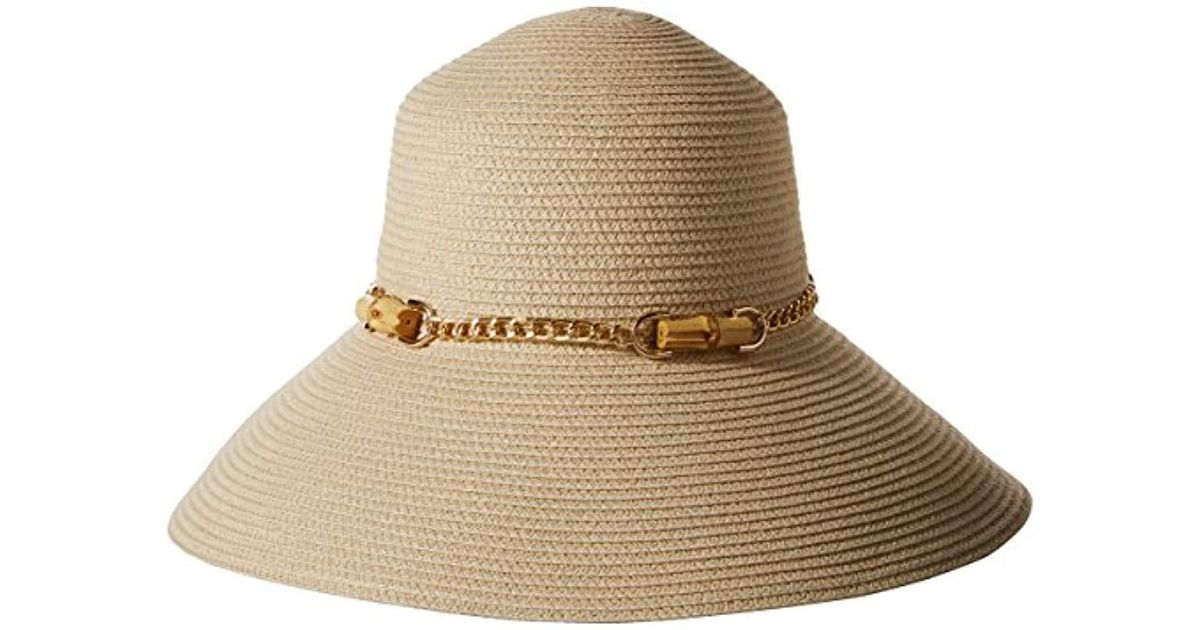 3f85fe7d9a99e Lyst - Gottex San Remo Packable Sun Hat