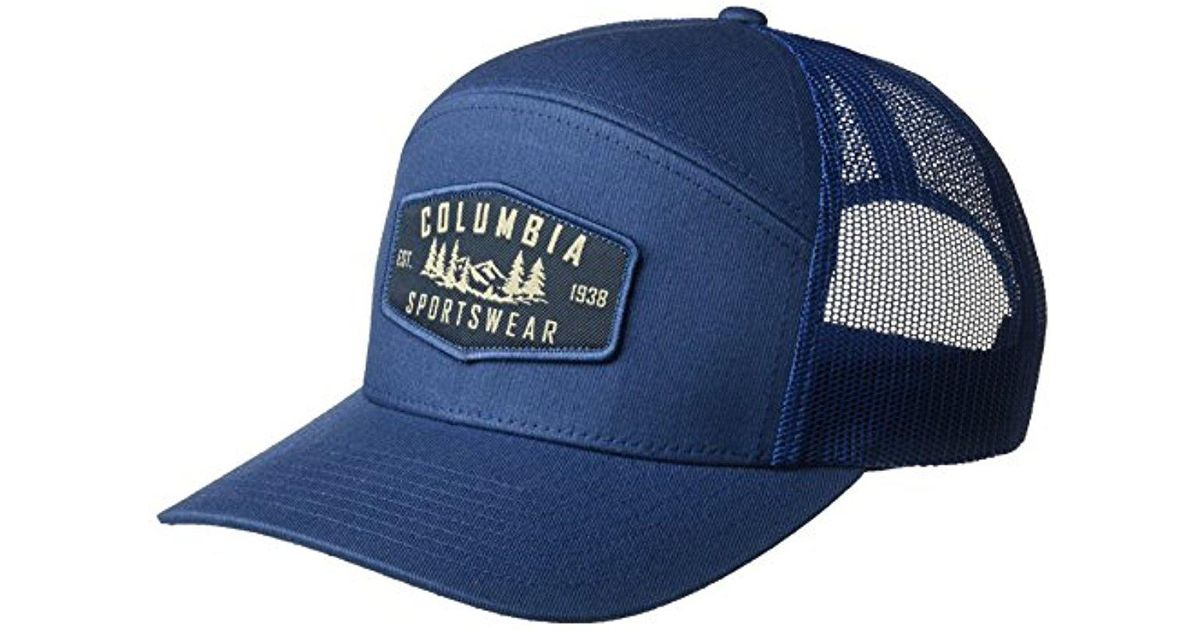 f7bcaf79c53a1 Columbia Trail Evolution Snap Back Hat in Blue for Men - Lyst