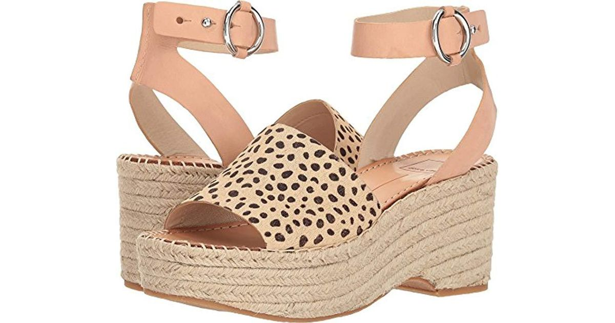 ab74c77e442 Lyst - Dolce Vita Lesly Wedge Sandal - Save 30%