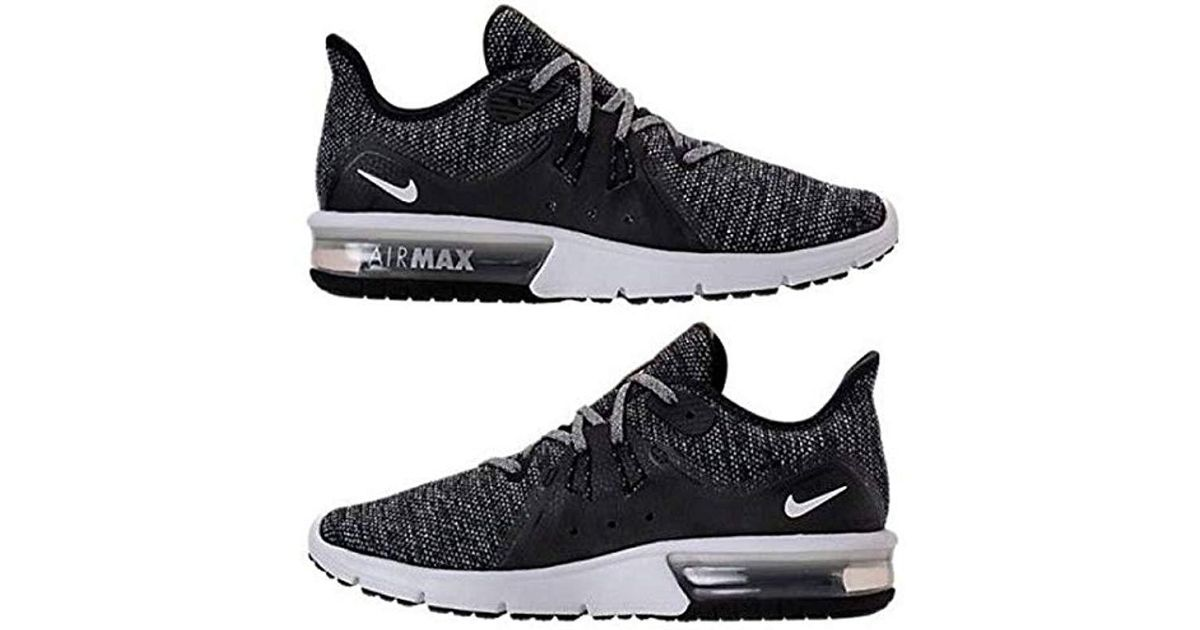 the best attitude 23ab3 303a3 Nike Wmns Air Max Sequent 3 Competition Running Shoes in Black - Save  11.235955056179776% - Lyst