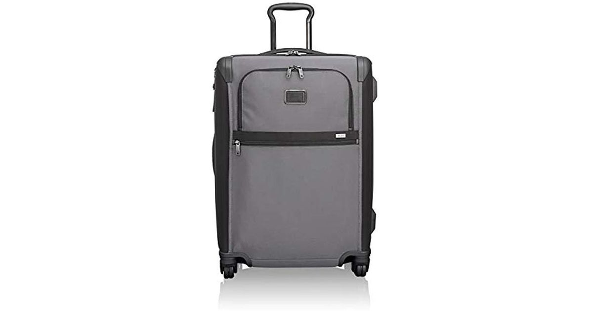 3ab798e0ff4c Tumi - Black - Alpha 2 Short Trip Expandable 4 Wheeled Packing Case Medium  Suitcase - Rolling Luggage For And for Men - Lyst