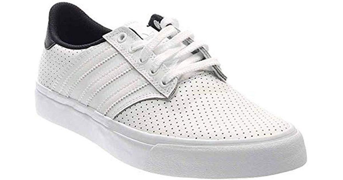 4c9066e7e Lyst - adidas Originals Seeley Premiere Classified Fashion Sneaker in White  for Men