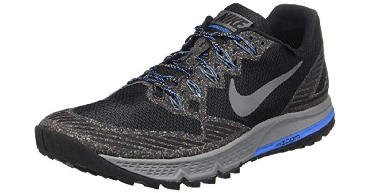56e6d857492 Nike Air Zoom Wildhorse 3 Gtx Running Shoes in Gray for Men - Lyst