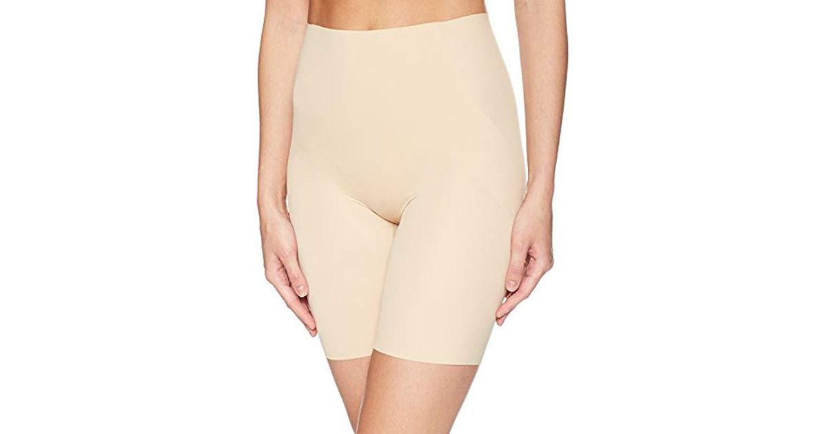 bc6a2687d4 Lyst - Wacoal Beyond Naked Thigh Slimmer in Natural