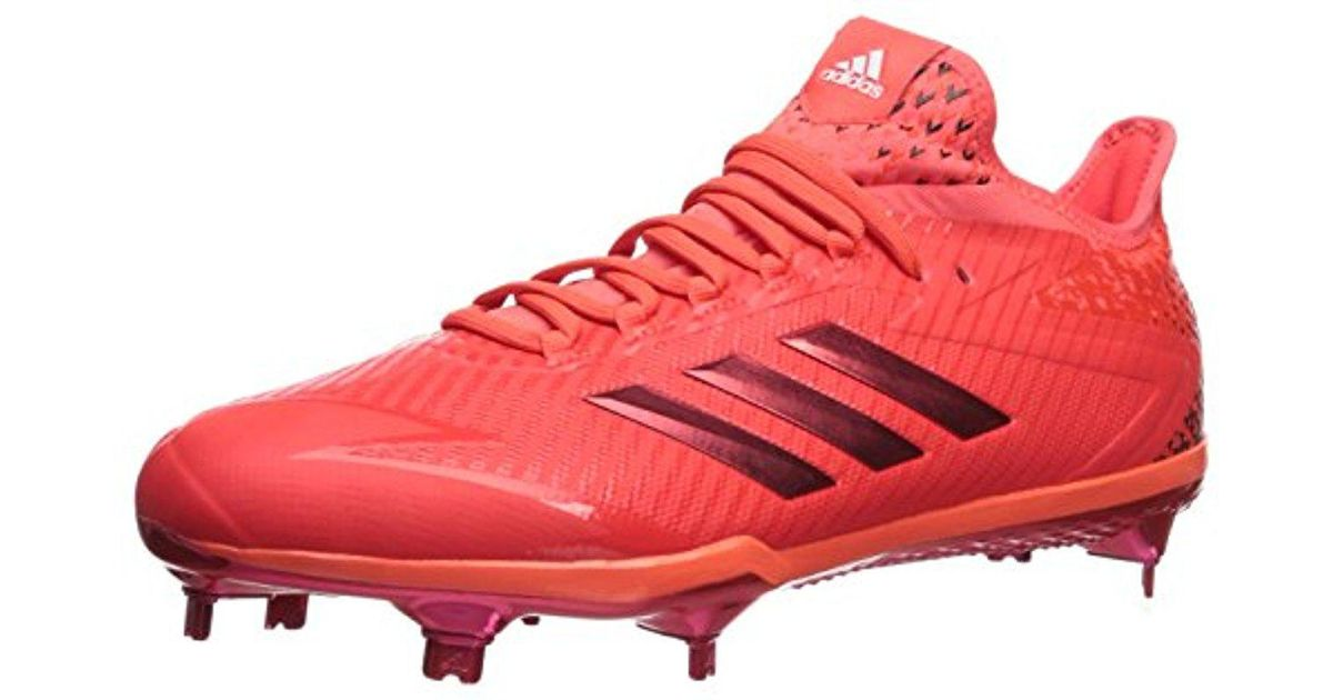 4a5375a421421f Lyst - adidas Performance Adizero Afterburner 4 in Red for Men