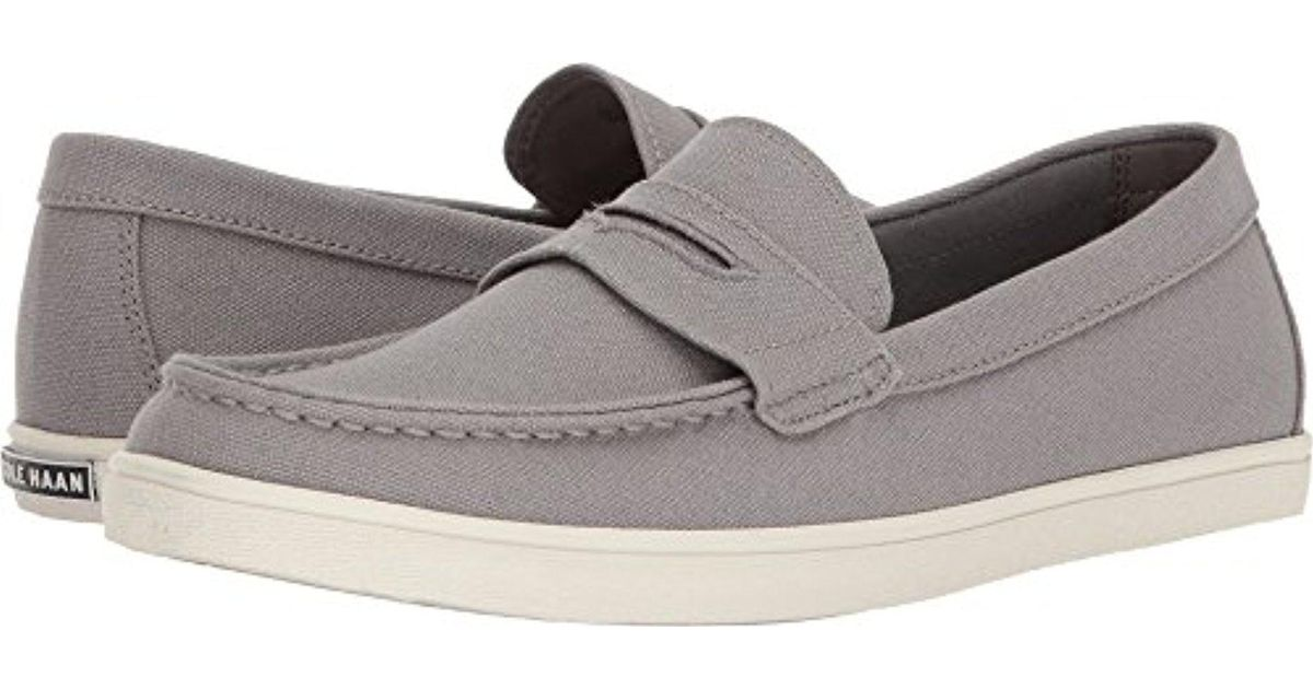 dc299ca2862 Lyst - Cole Haan Hyannis Penny Loafer Ii in Gray for Men - Save 33%