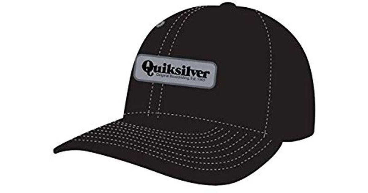 cd3473f4 Lyst - Quiksilver Bullish Trucker Hat in Black for Men