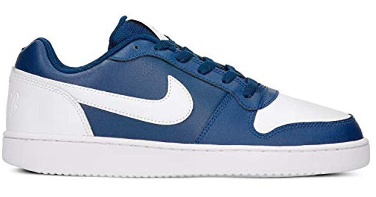 33861756273 Lyst - Nike Ebernon Low Basketball Shoe in Blue for Men