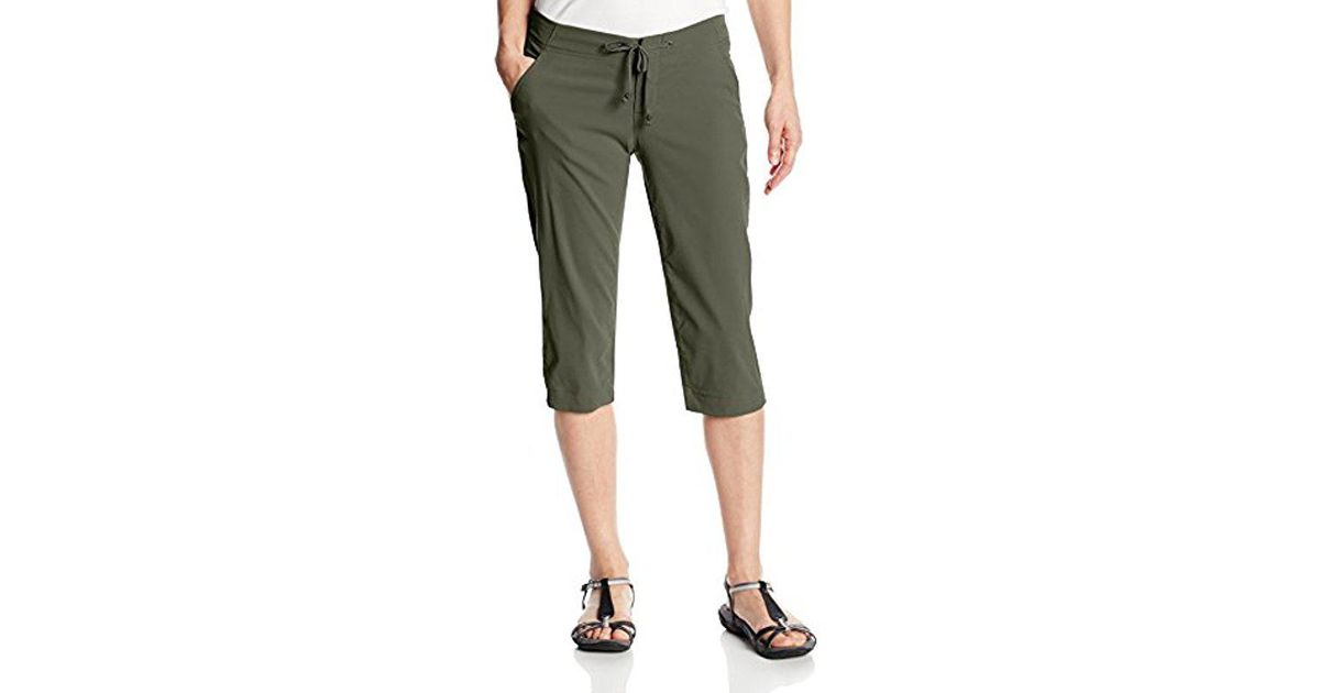 56516d62062 Lyst - Columbia Anytime Outdoor Capri Pant in Green