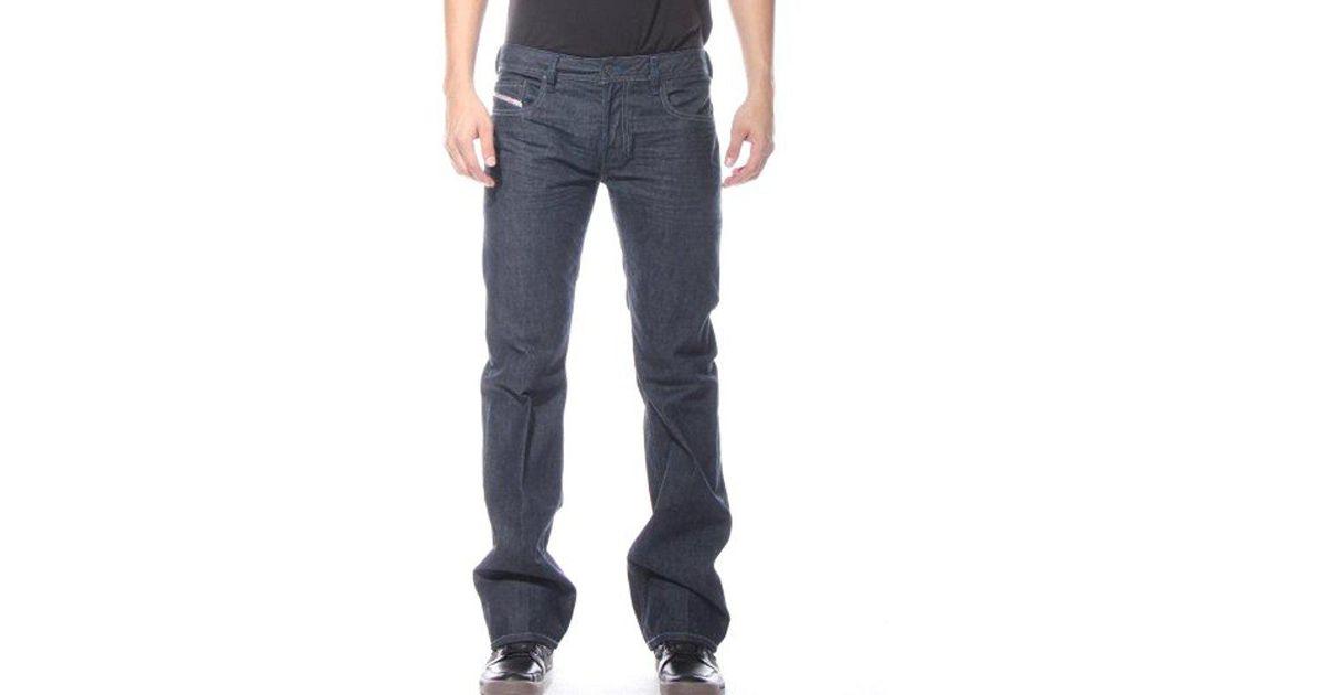 e3ddf2a5b76 Lyst - DIESEL Zatiny Slim Micro-bootcut Jean 0088z in Blue for Men