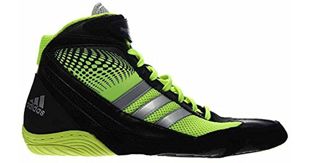 best service b5f97 dfe58 Lyst - adidas Wrestling Response 3.1 Wrestling Shoe in Black for Men
