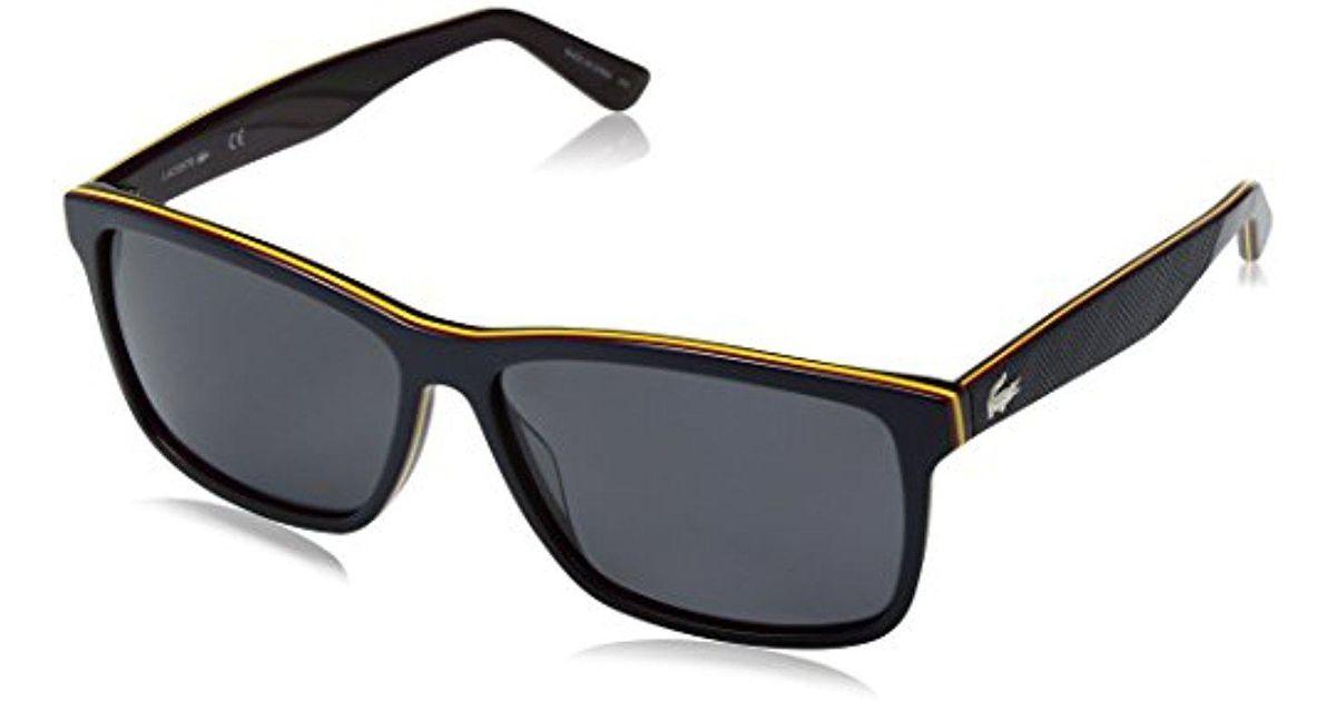 3e338f9f4f Lyst - Lacoste Polarized Sunglasses - L705sp in Blue for Men