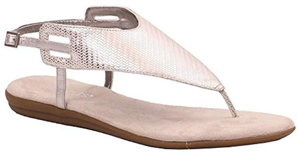 5b730df94784 Lyst - Aerosoles Chlose Friend Sandal in Metallic - Save 36%