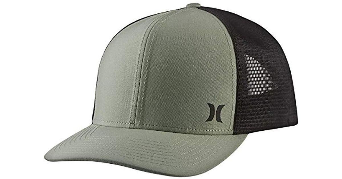 ... order online d2dd4 5ee1c Lyst - Hurley Milner Curved Bill Snapback  Trucker Cap for Me ... ee90869cfe02