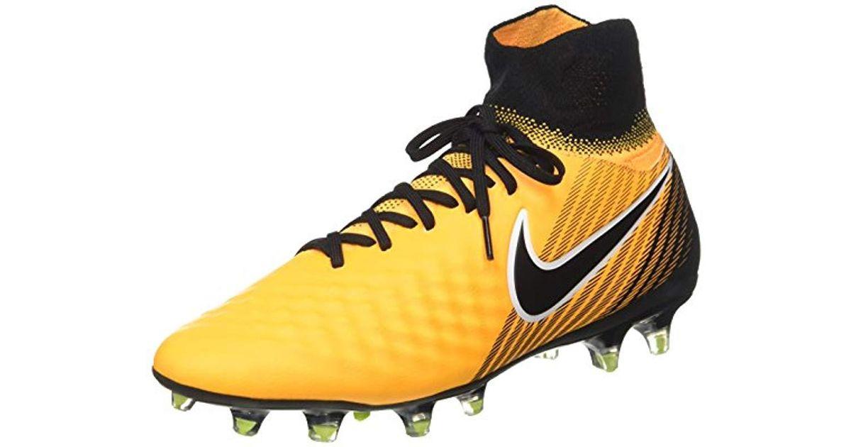 0585c7487ada Nike Magista Orden Ii Fg Footbal Shoes in Orange for Men - Lyst
