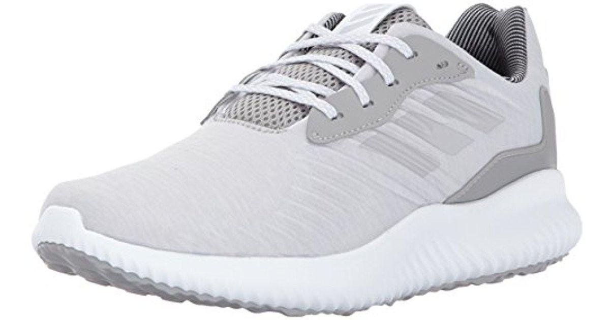 lyst adidas alphabounce rc w scarpa da corsa in grigio.