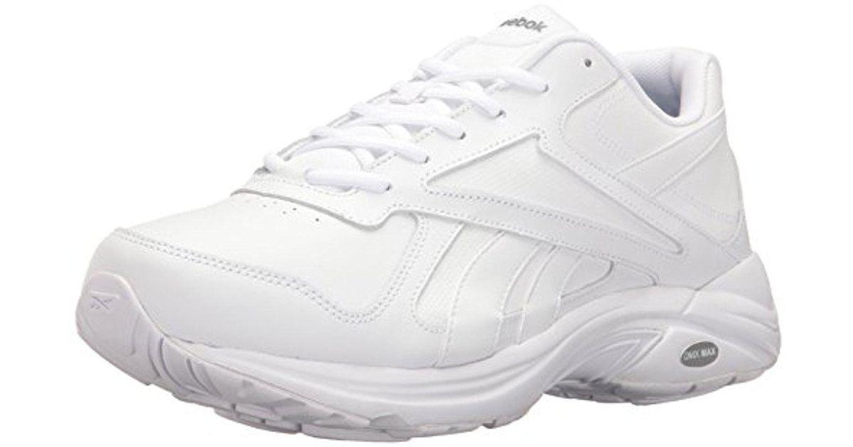 12c540048286 Lyst - Reebok Walk Ultra V Dmx Max 2e Shoe in White for Men - Save 20%