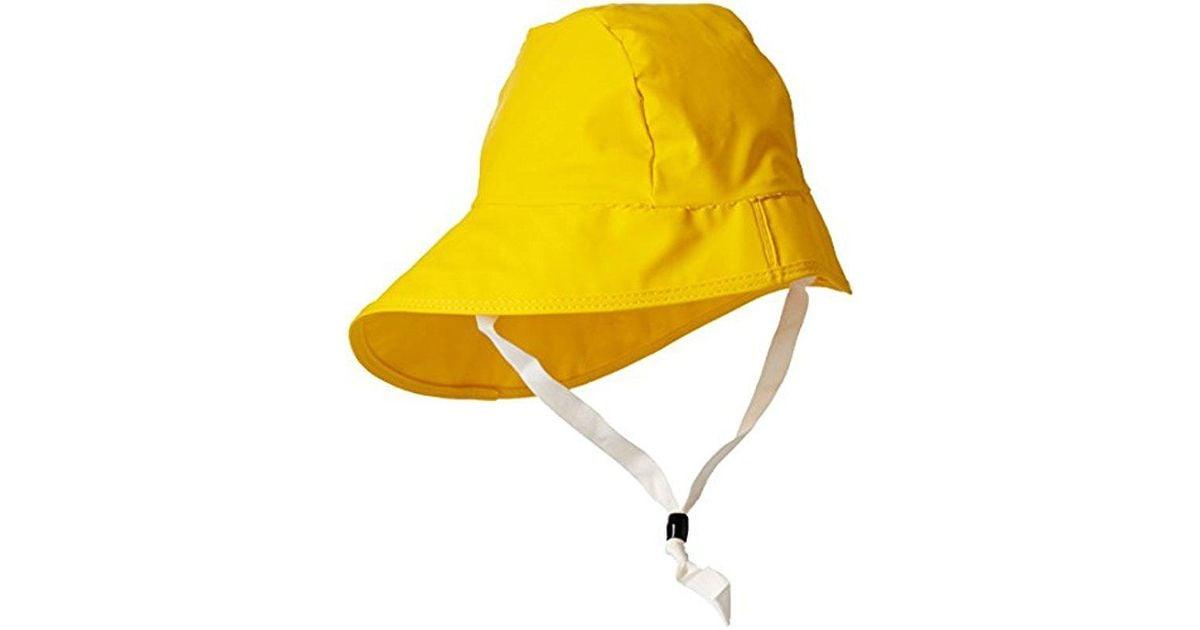 Lyst - Helly Hansen Sou wester Waterproof Rain Hat in Yellow for Men - Save  17% aec785313c6