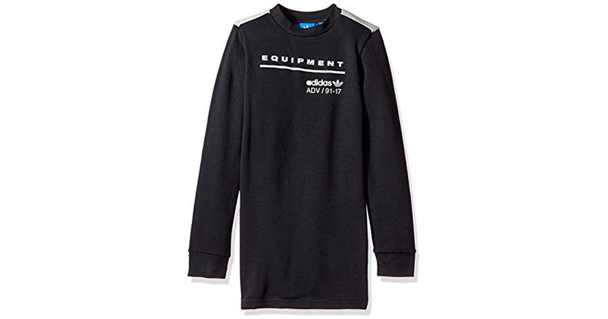 9145add6d adidas Originals Big Boys' Kids Eqt Long Sleeve Tee in Gray for Men - Lyst