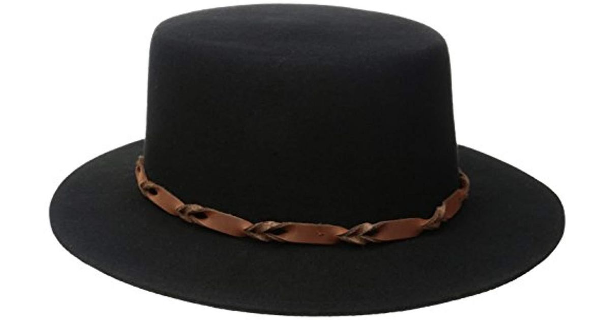 394e2de4e6225 ... ireland lyst brixton bridger hat in black for men save  33.82352941176471 a6d91 9d4a9