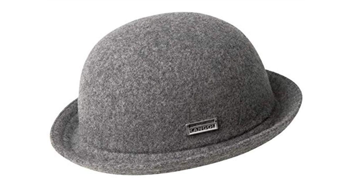 b42332c8a Kangol - Gray Wool Bombin Hat for Men - Lyst
