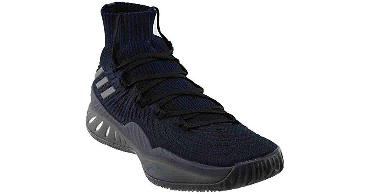 4d29ef5150d Lyst - adidas Crazy Explosive 2017 Primeknit Basketball Shoes in Blue for  Men