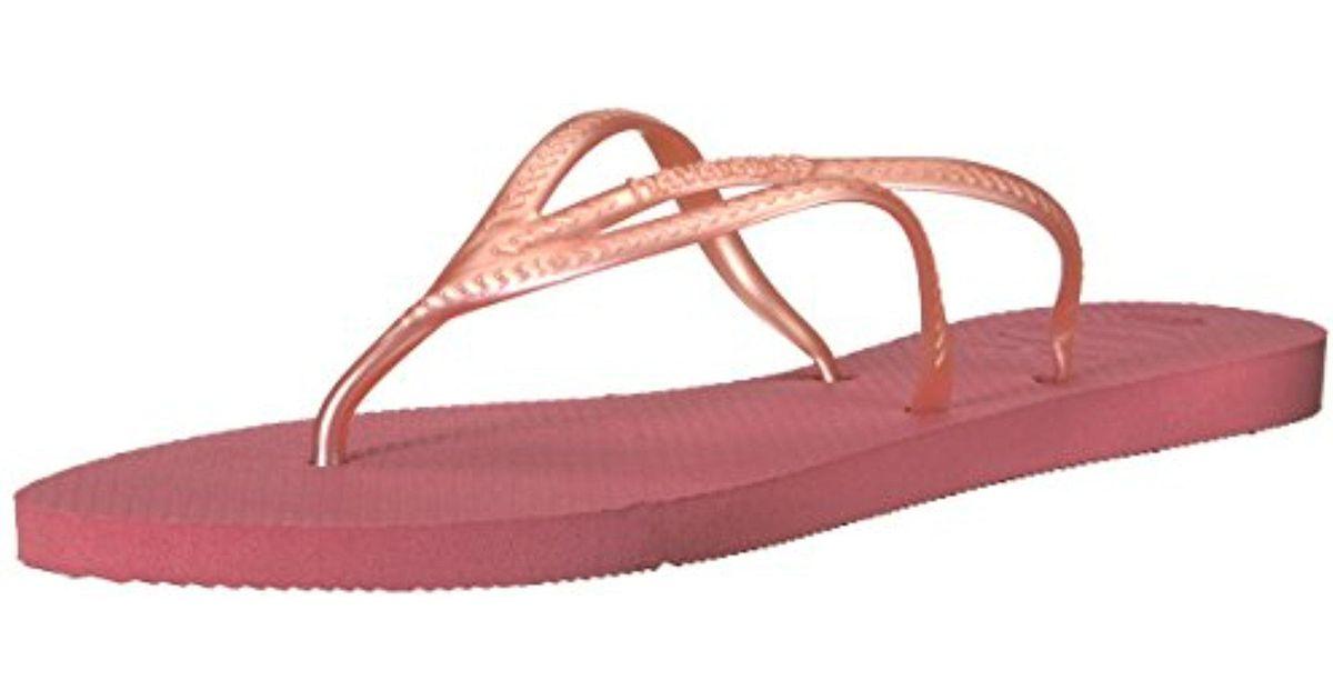 d018b6354074ef Lyst - Havaianas Tria in Pink