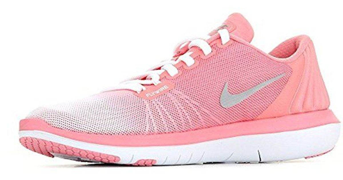 92d67b88da0f9 Lyst - Nike Flex Supreme Tr 5 Prm Women s Shoes (trainers) In Pink in Pink