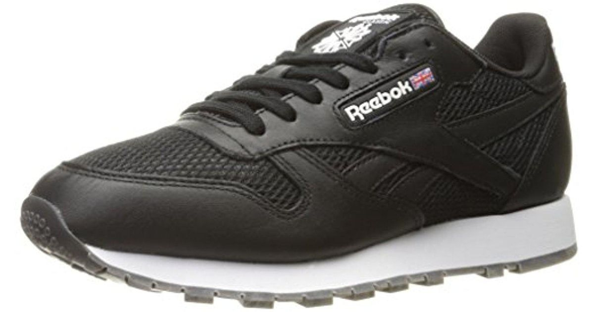 4730a959d9a4b Lyst - Reebok Classic Leather Nm Fashion Sneaker in Black for Men - Save 25%