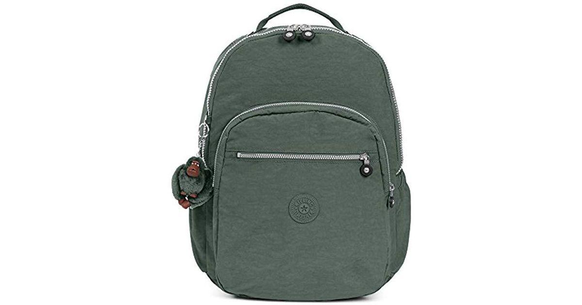 9c133d71b43 Kipling Seoul Extra Large Backpack in Green - Lyst