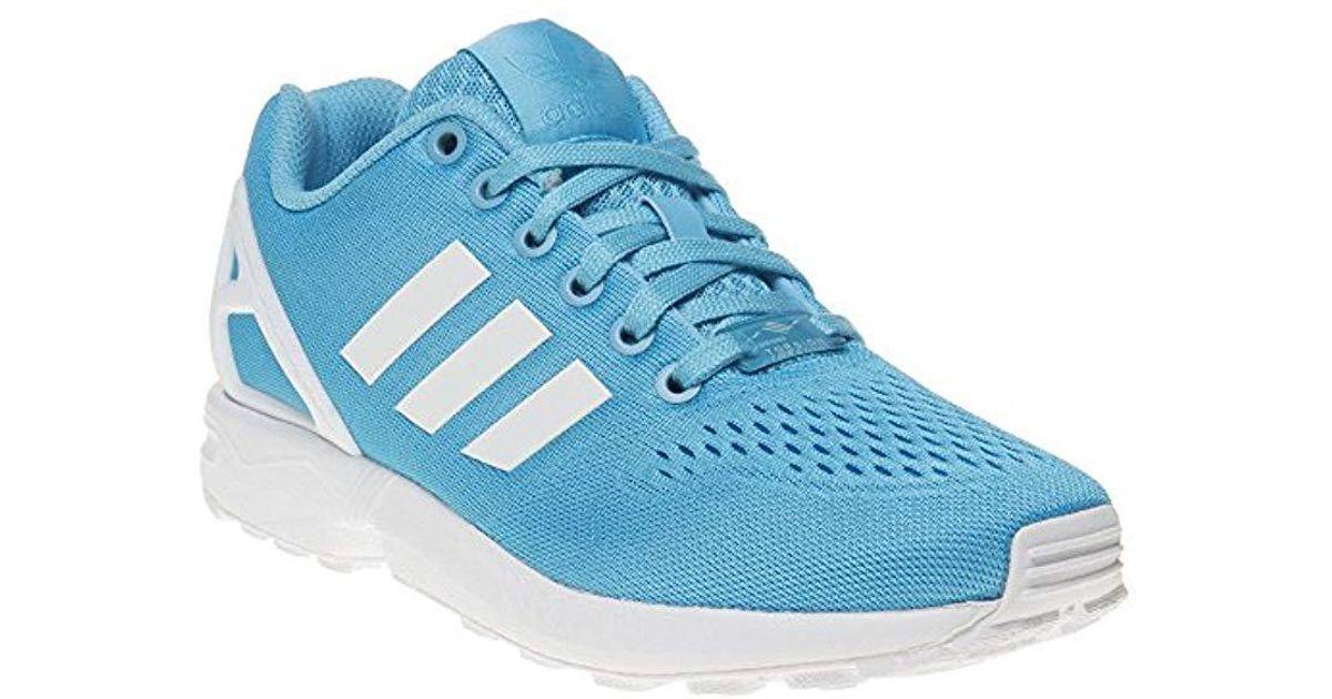adidas unisex zx flux blue