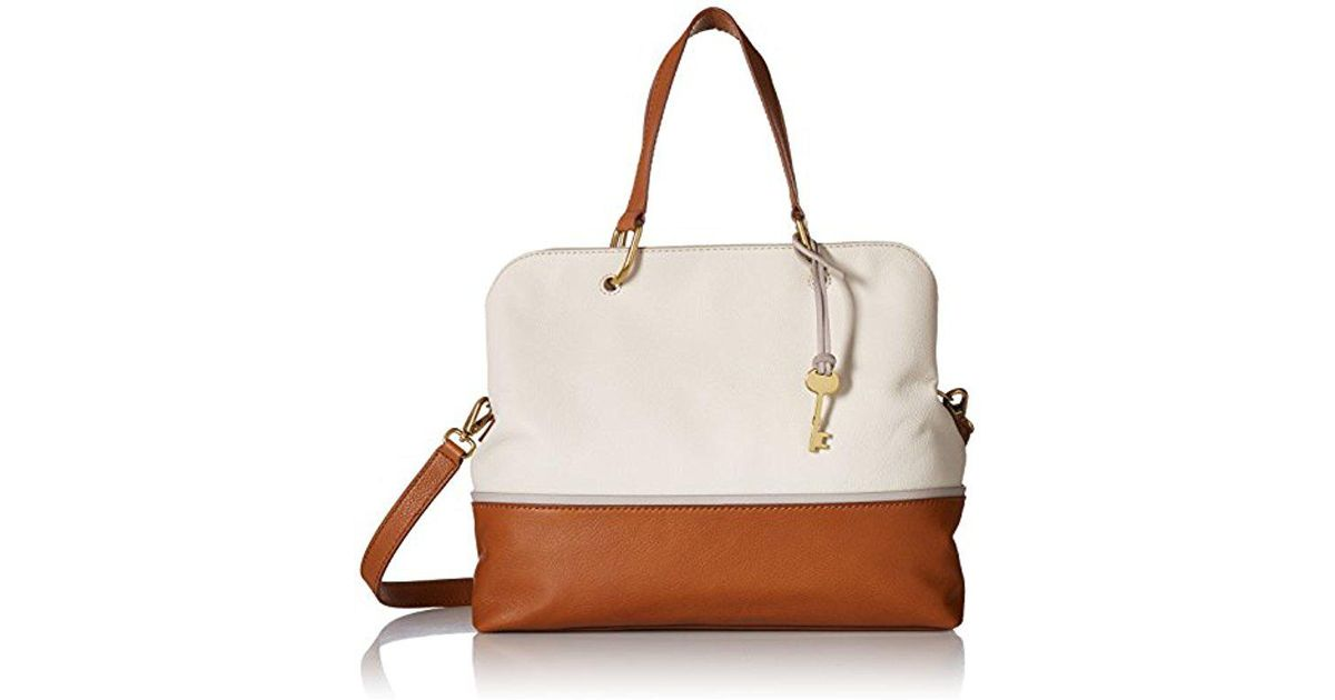 f30464959e89 Lyst - Fossil Lane Satchel Handbag