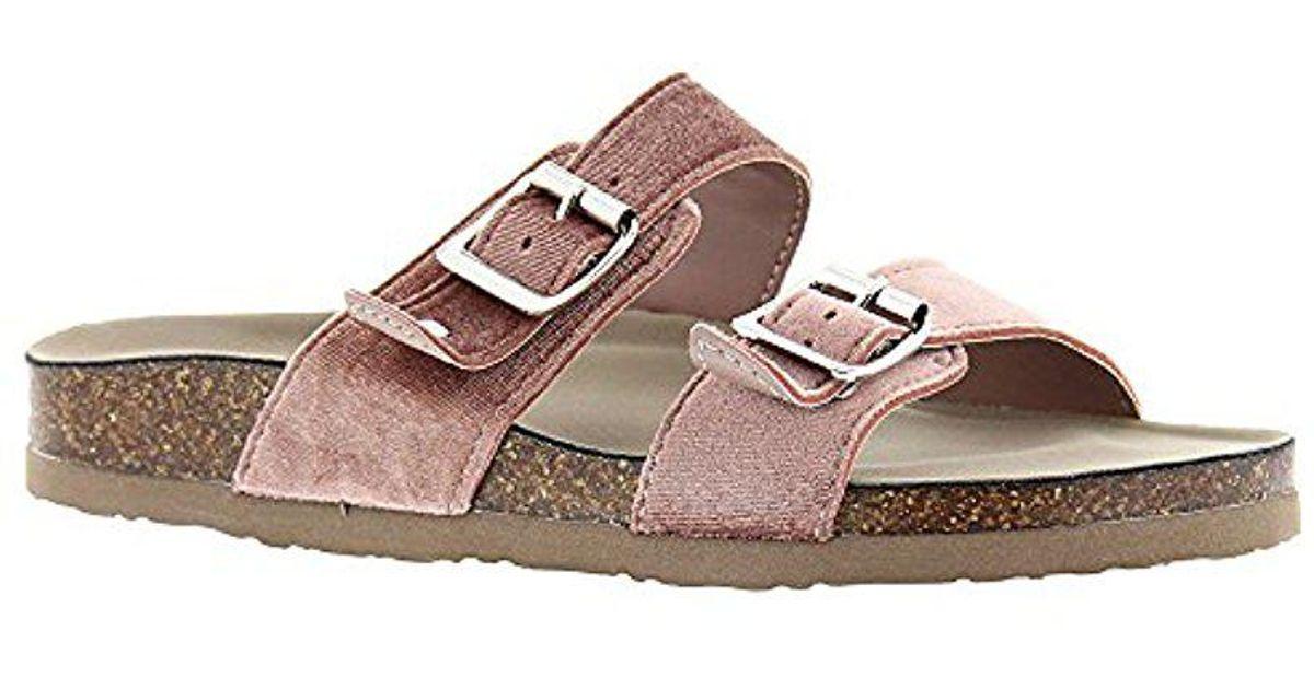de6838be9116 Lyst - Madden Girl Brando-v Flat Sandal