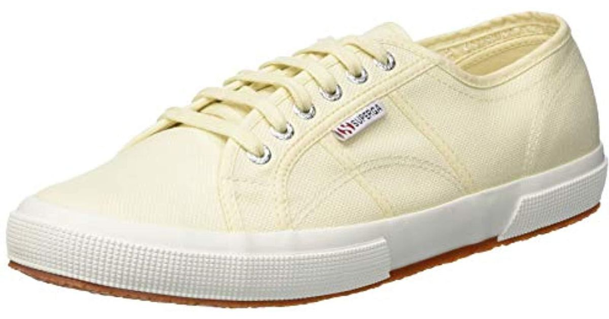 2862cfed595dd Superga 2750 Cotu Classic, Unisex Adults' Low-top Sneakers, Ivory (ivory  Sk13), 2.5 Uk (35 Eu) in White - Lyst