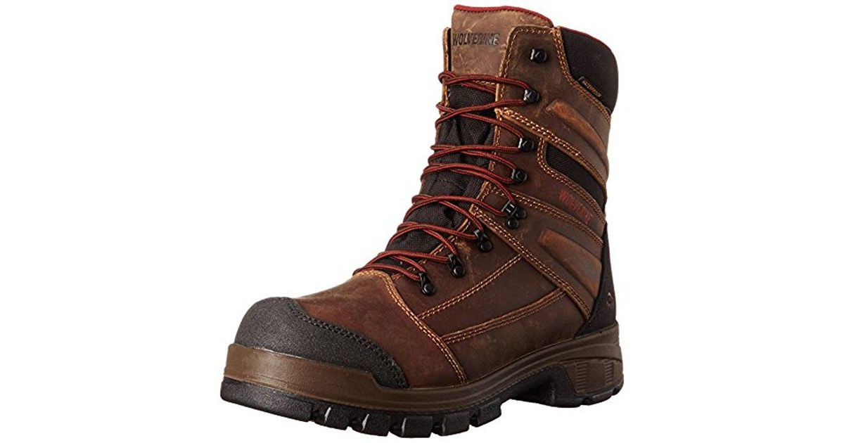 106e6f3416f Wolverine - Brown Renton Lx 8 Inch Comp Toe Epx Wpf Ins Work Boot for Men -  Lyst