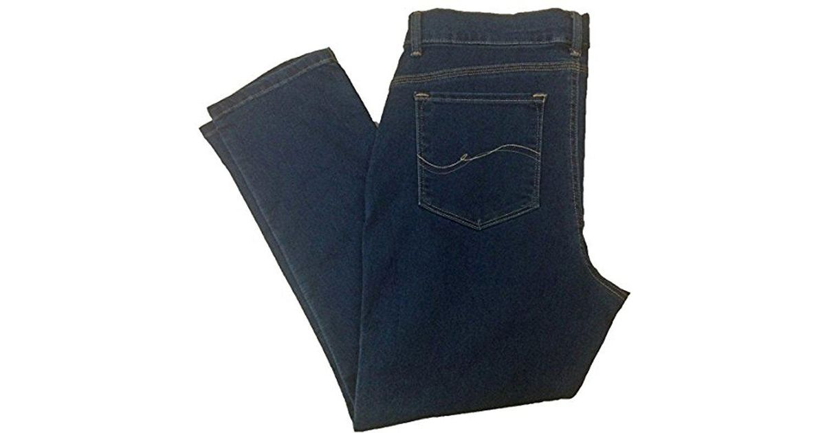 b76e0615 Lyst - Lee Jeans Petite Easy Fit Frenchie Skinny Jean in Blue