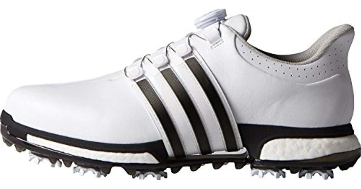 reputable site d07cf 48930 Lyst - adidas Golf Tour360 Boa Boost Spiked Shoe in Black for Men - Save  12.578616352201252%