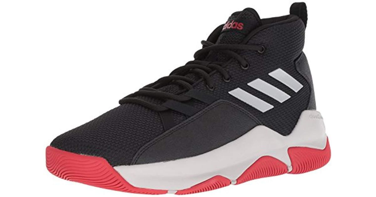 new style 09ca9 1cd1c Lyst - adidas Streetfire Basketball Shoe, Black grey scarlet, 14 M Us in  Black for Men
