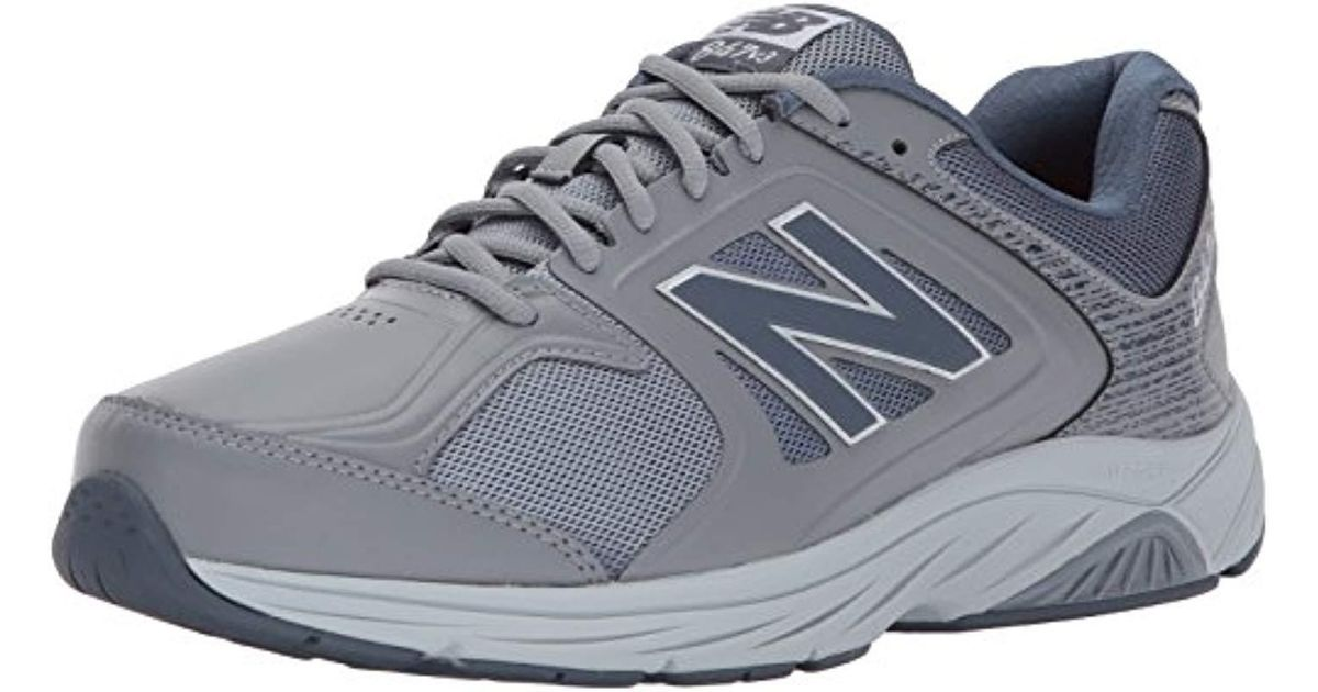 c400f2a0f644 ... norway lyst new balance 847v3 walking shoe grey 8 4e us in gray for men  79c56
