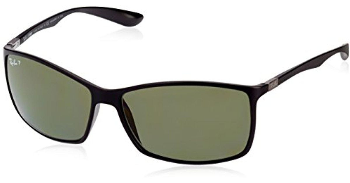 10accd83bc Lyst - Ray-Ban Unisex-adult Liteforce 0rb4179 Polarized Rectangular  Sunglasses
