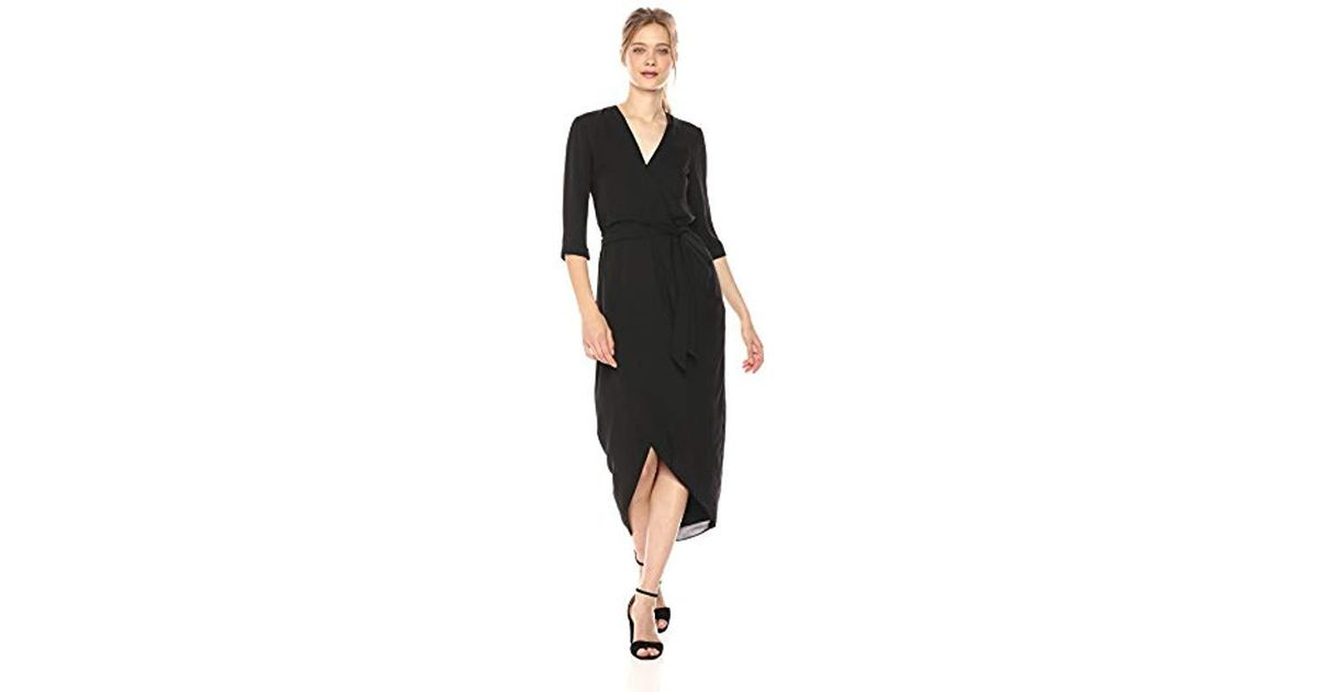 f1c5e6bf9c Amanda Uprichard Venus Dress in Black - Lyst