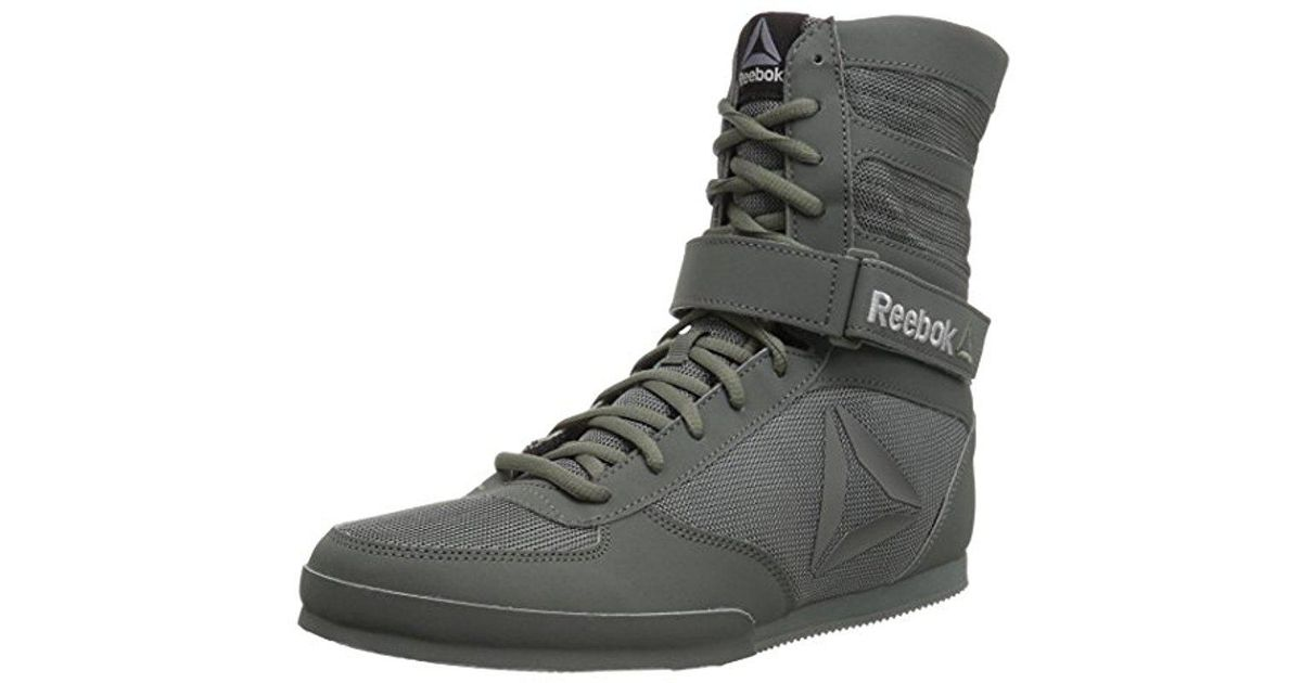Reebok Black Boxing Boot buck Sneaker for men