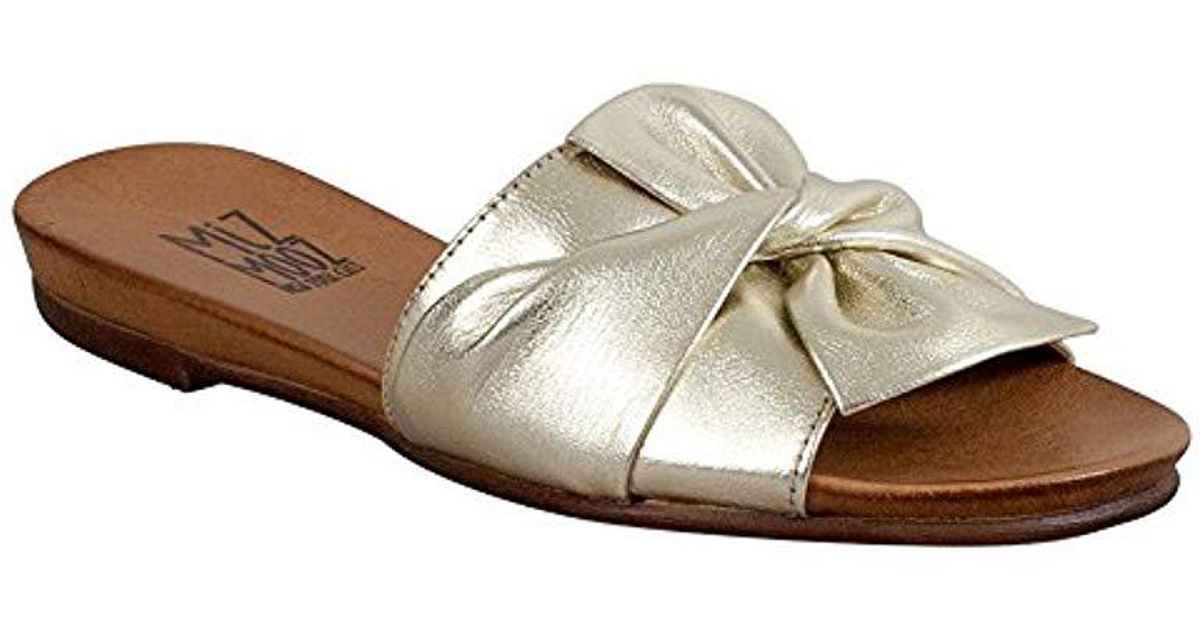 eff5a477e62 Lyst - Miz Mooz Kenna Ankle-strap Sandal in Blue