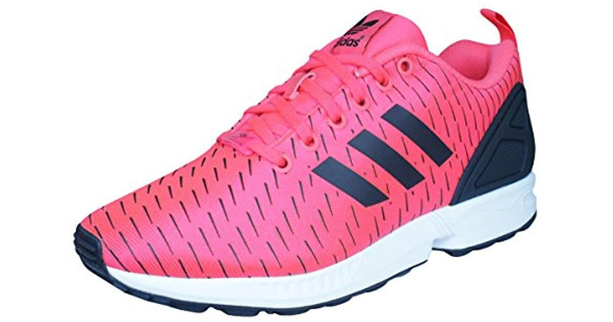 factory authentic 347c0 fdc78 Adidas Zx Flux, s Platform in Pink - Lyst
