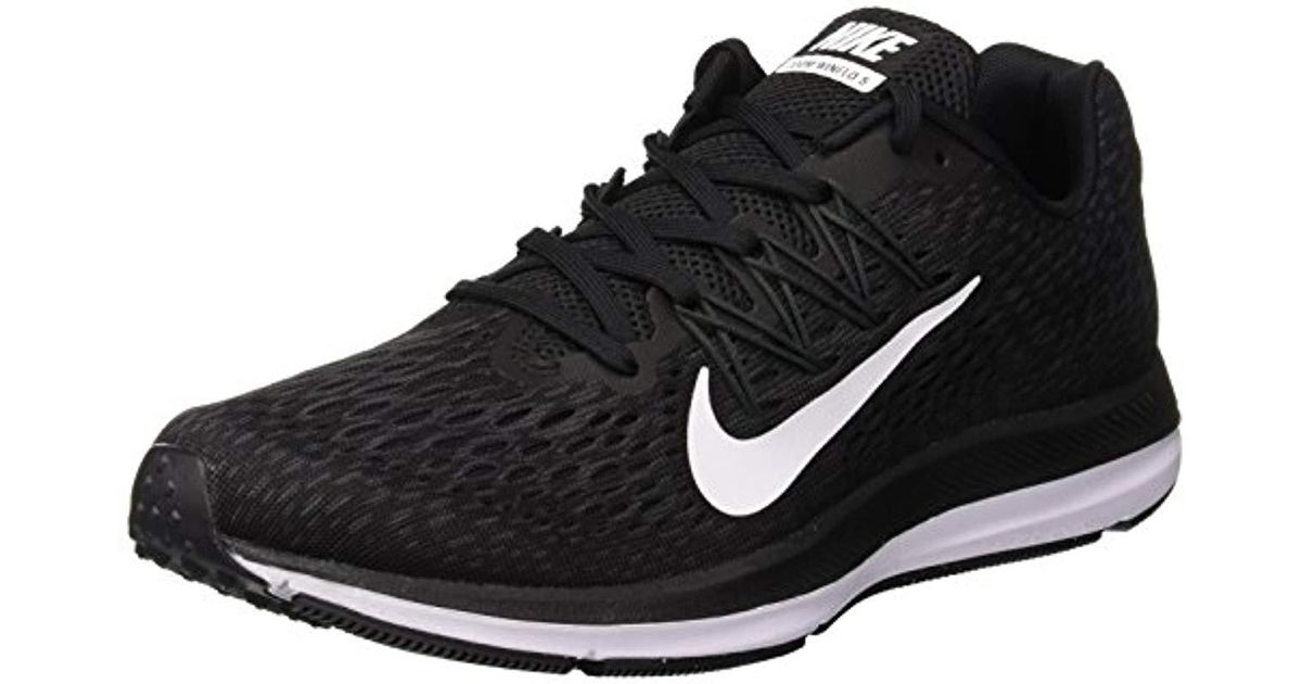 super popular 07dab dbb31 Nike Air Zoom Winflo 5 Running Shoes in Black for Men - Lyst